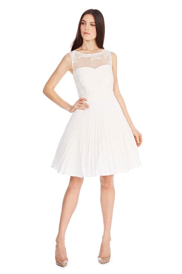 Short White Dresses for Your Bridal Shower