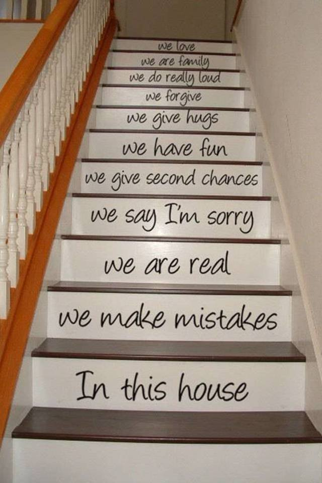 Diy creative ways to decorate your house stairs How to decorate ur house