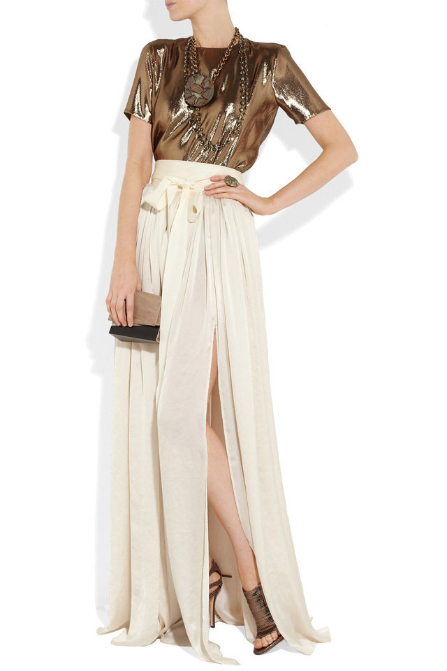 maxi skirts for summer 2013