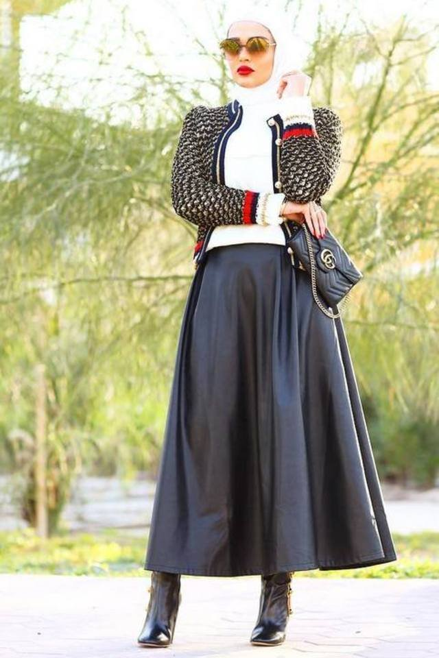 20 Chic Hijab Looks For Women Who Like To Dress Up Every Day