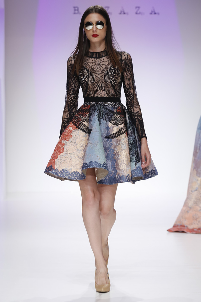 Hussein Bazaza Presentes A Unique Collection At Fashion Forward Dubai
