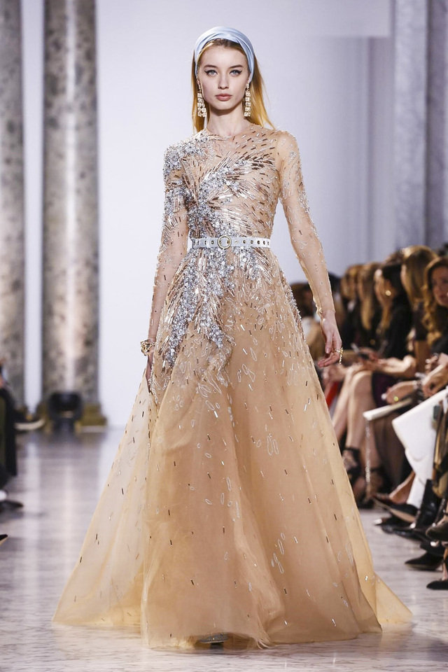 Vintage Glamour Is Back with Elie Saab's Haute Couture ...