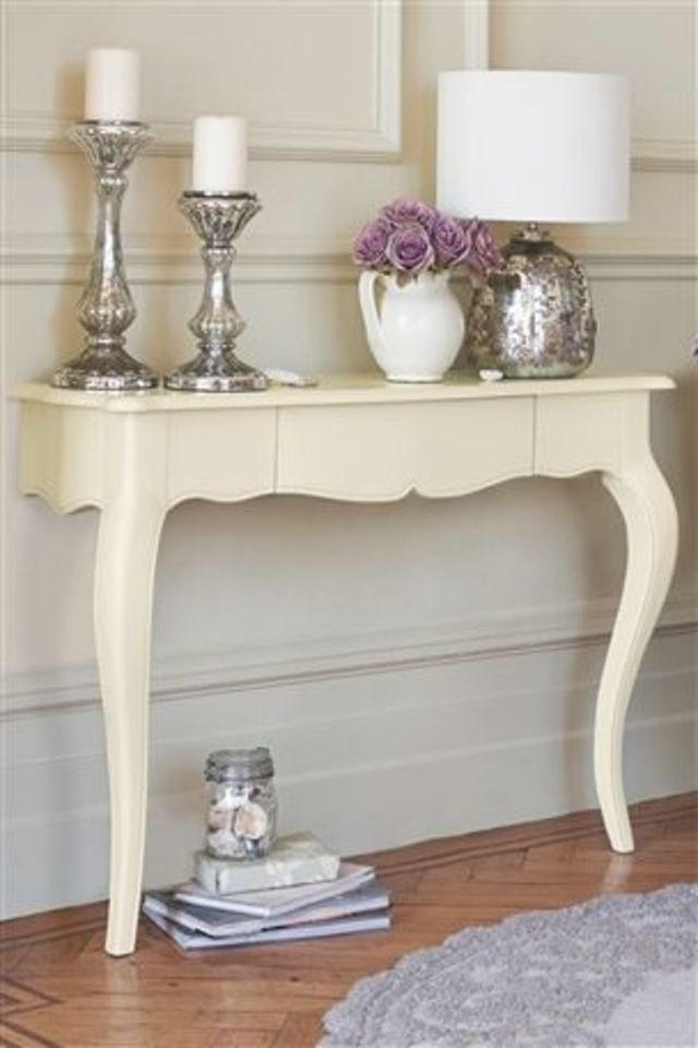 DIY: Turn Your Old Table Into a Cool Wall-Mounted Console