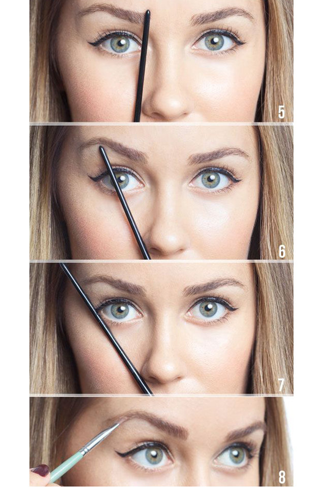 How to Shape Your Eyebrows Correctly
