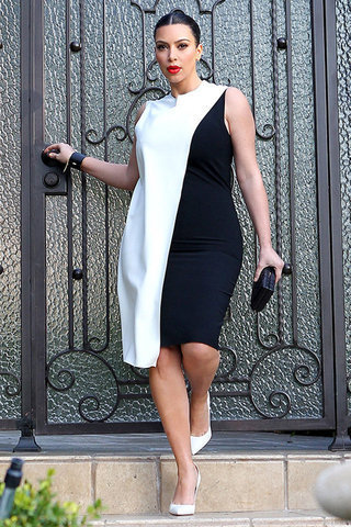 Top Five Kim Kardashian Pregnancy Looks